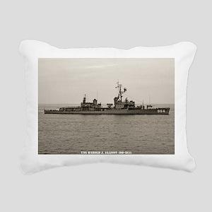 hjellison framed panel p Rectangular Canvas Pillow