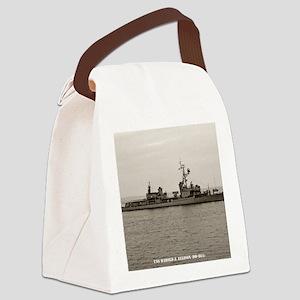 hjellison framed panel print Canvas Lunch Bag
