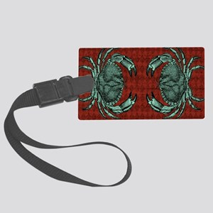 Crabs Large Luggage Tag