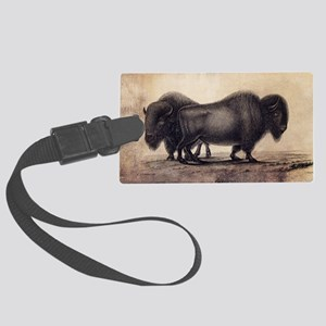 Buffalo Large Luggage Tag