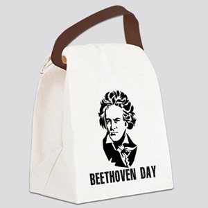 Beethoven Day Canvas Lunch Bag