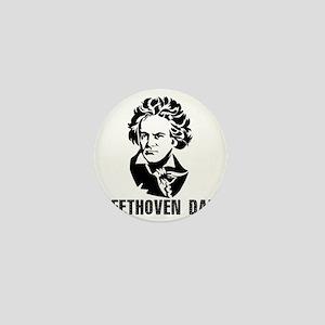 Beethoven Day Mini Button