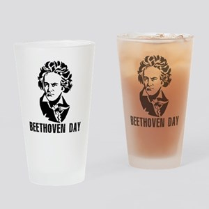 Beethoven Day Drinking Glass