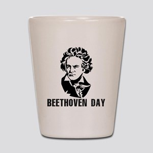 Beethoven Day Shot Glass