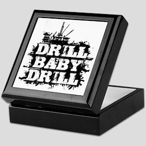 DrillBabyDrill Keepsake Box