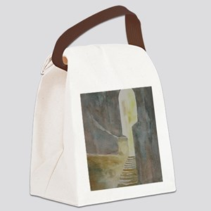 Twelve Steps into the Light Canvas Lunch Bag