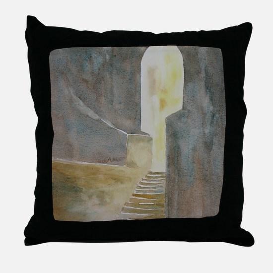Twelve Steps into the Light Throw Pillow