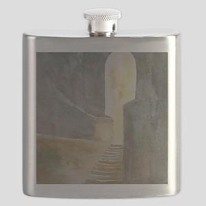 Twelve Steps into the Light Flask