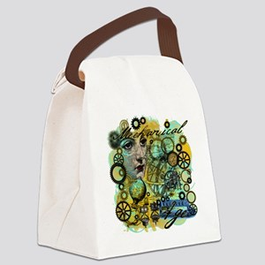MECHANICAL-AGE STEAMPUNK Canvas Lunch Bag