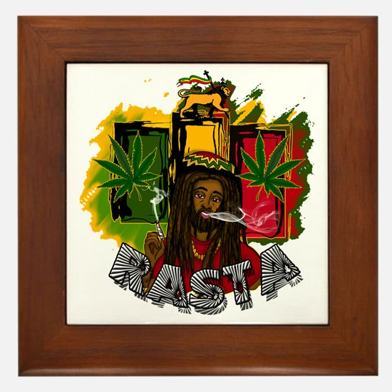 RASTA Framed Tile