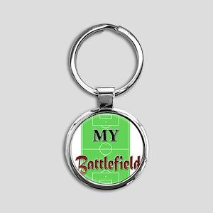 My Battlefield Round Keychain