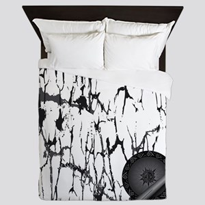Lung Cancer Warrior Queen Duvet