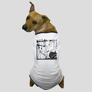 Lung Cancer Warrior Dog T-Shirt