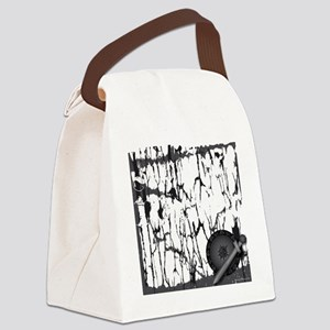 Lung Cancer Warrior Canvas Lunch Bag