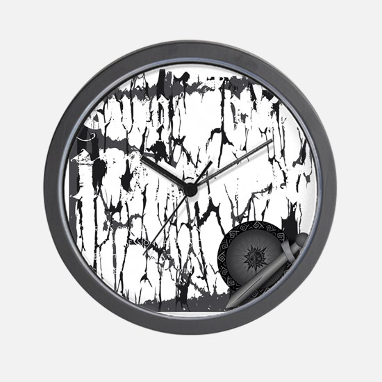 Lung Cancer Warrior Wall Clock