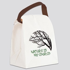 10x10_apparelNatureChurch Canvas Lunch Bag
