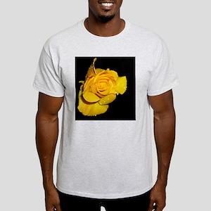 Yellow Rose Dew Drops Light T-Shirt