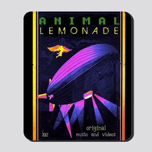 music animal lemonade Mousepad