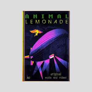 music animal lemonade Rectangle Magnet