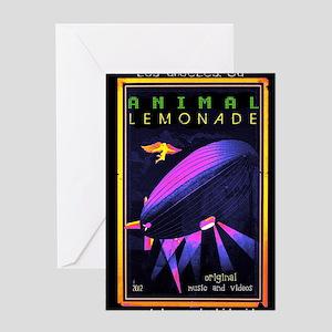 music animal lemonade Greeting Card