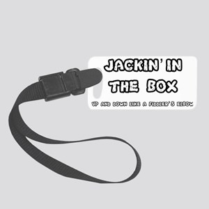 JACKIN IN THE BOX - FIDDLERS ELB Small Luggage Tag