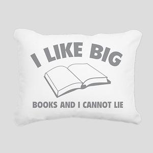 likeBooks1C Rectangular Canvas Pillow