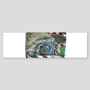 Subaru BRZ Drift Bumper Sticker