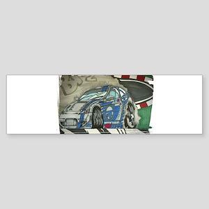 Subaru BRZ Drift Bumper Sticker