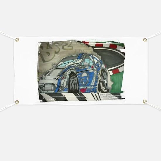 Subaru BRZ Drift Banner