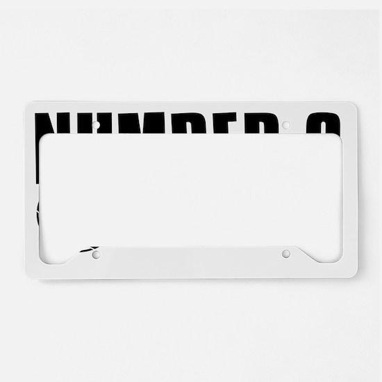 number6 License Plate Holder
