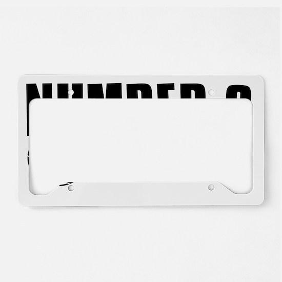 number9 License Plate Holder