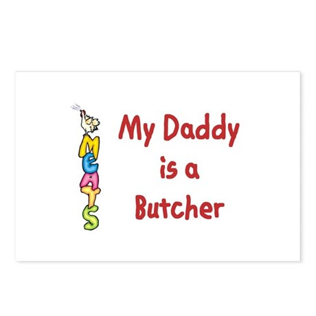 My Daddy Is A Butcher Postcards (Package of 8)