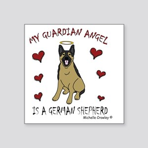 "GermanShepherd Square Sticker 3"" x 3"""