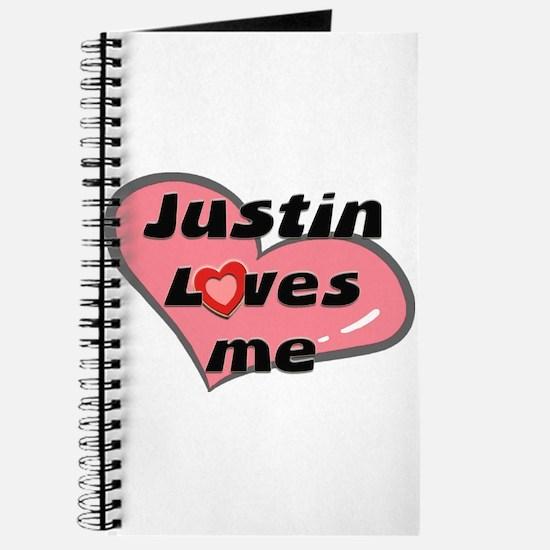 justin loves me Journal