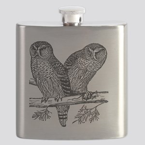 Two Owls Flask