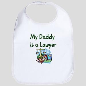 My Daddy Is A Lawyer Bib