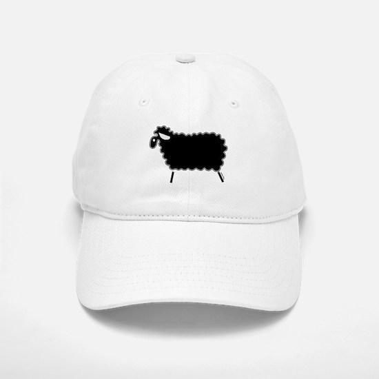 Single Black Sheep Baseball Baseball Cap