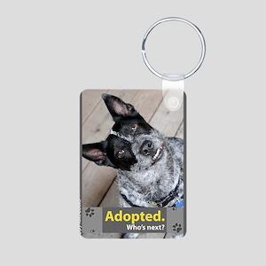 Australian Cattle Dog ( Bl Aluminum Photo Keychain