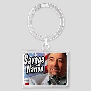 Savage Landscape Keychain