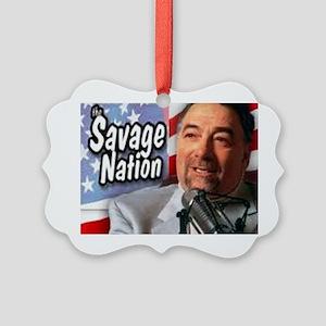 Savage Picture Ornament