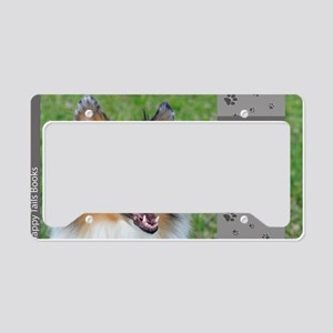 Collie License Plate Holder