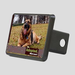 German Shepherd Dog Rectangular Hitch Cover