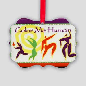 Color Me Human Picture Ornament