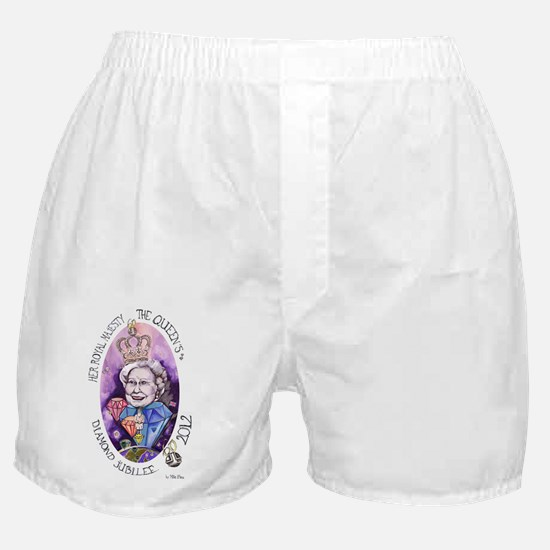 HRM Queen Elizabeth II Diamond Jubile Boxer Shorts