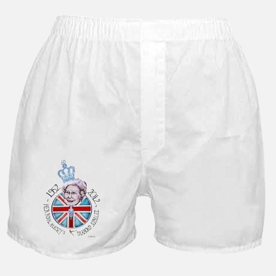 HRM Queen Elizabeth IIs Diamond Jubil Boxer Shorts