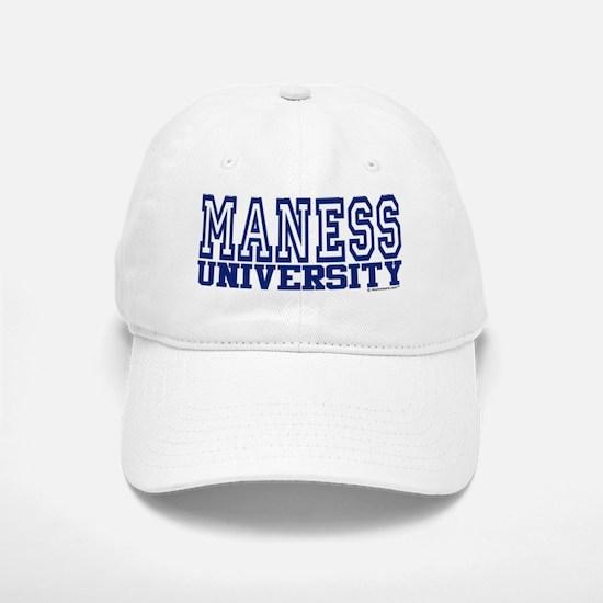 MANESS University Baseball Baseball Cap