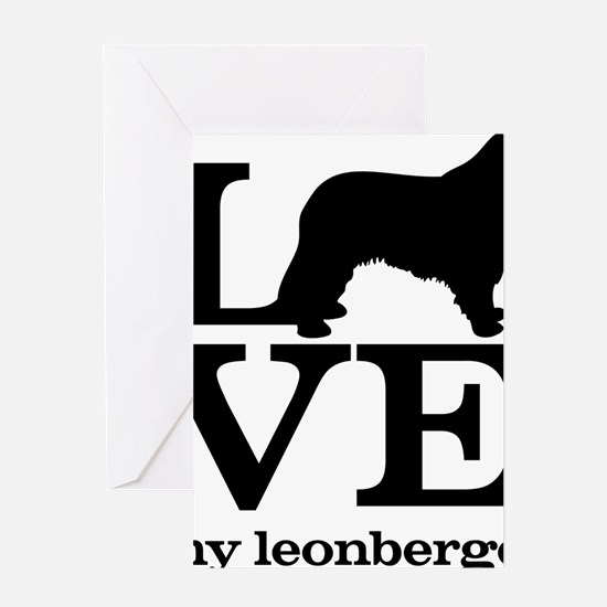 Love my Leonberger Greeting Card