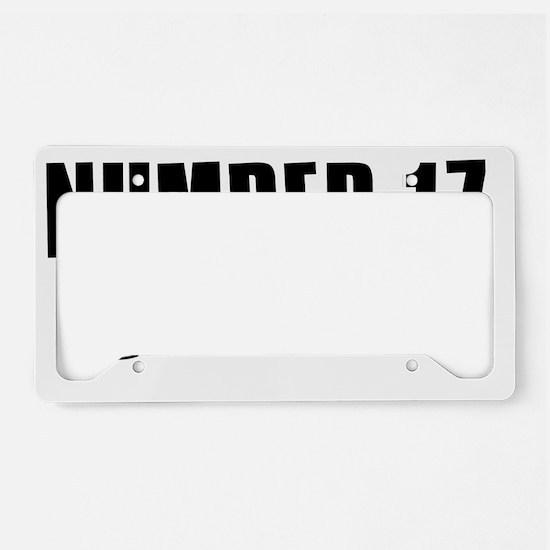 mygirl17 License Plate Holder