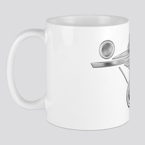 Enterprise Silver Mug