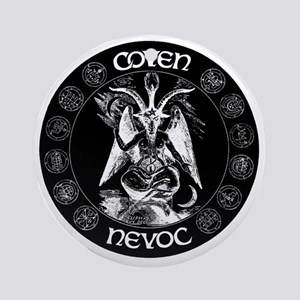 coven nevoc logo Round Ornament
